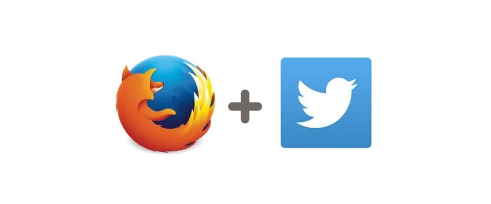 FirefoxとTwitterのロゴ