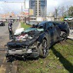 【事故動画】170キロで電柱に突っ込んだ日産「GT-R」…衝撃の映像がこちら
